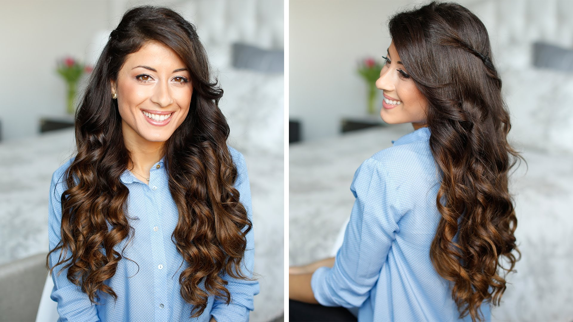 How To Curl Your Hair With A Flat Iron Very Easy Flat Iron